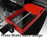 Press Brake Back Gauge
