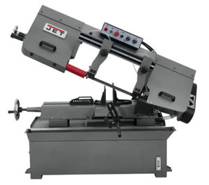 "Jet hbs-1018w 414473 10"" Horizontal Band Saw Call us 1-800-748-9068"