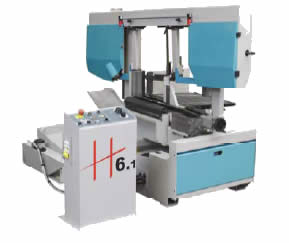 H6SA Heavy Duty Horizontal Band Saw