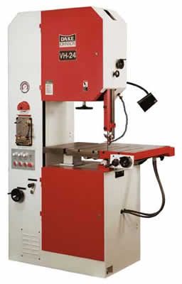 Dake Johnson Vertical Band Saws