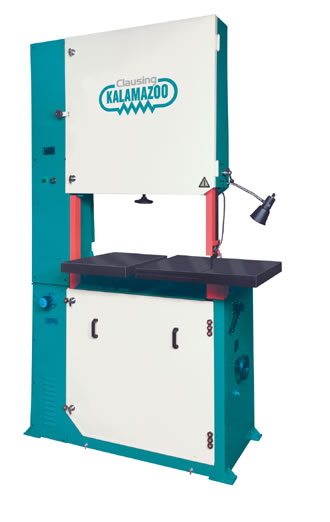 Clausing V4012 Vertical Band Saw
