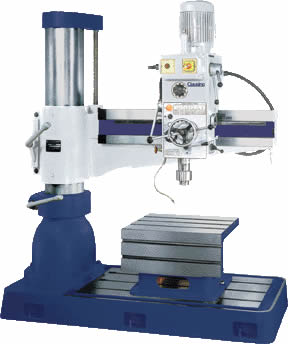 CL1100 and CL1200 Radial Arm Drill Press