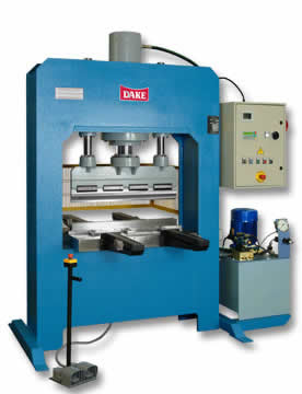 Dake PDL Semi-Automatic Press Brake