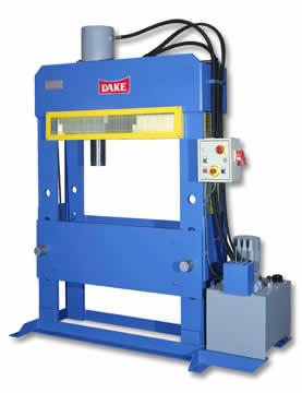 Dake PFF hydraulic Press
