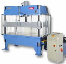 PSQ 4-Post Hydraulic Platen Press