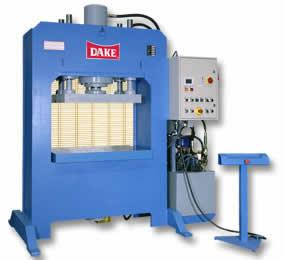 PST Semi-Automatic 2 Post Platen Press