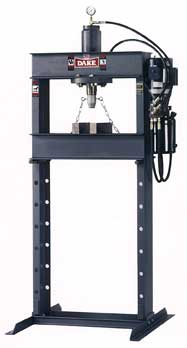 Dake ingle phase hydraulic press