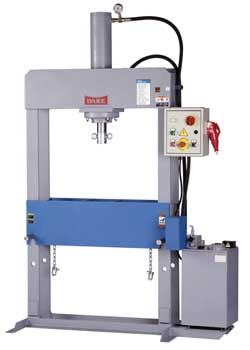 3 Phase dura-press, hydraulic press