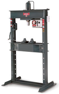Dake electric-hydraulic Press