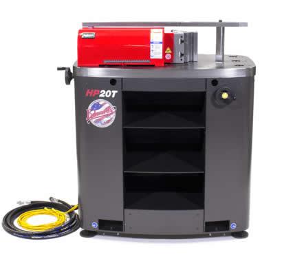 Edwards 20 Ton horizontal press