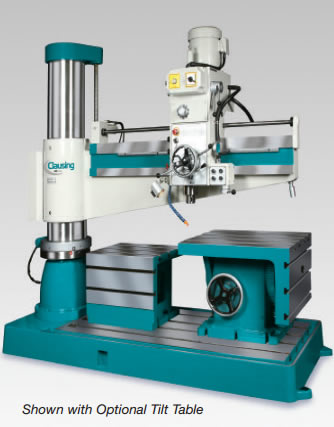 Clausing CLC1250H Heavy Duty Radial Arm Drill