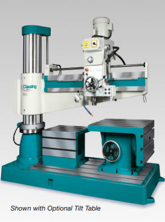 Clausing CLC1600H 5 Foot Radial Arm Drill