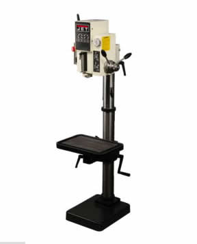 Jet J-A3008M drill press with power feed