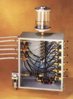 Closer view of micro-lubrication system