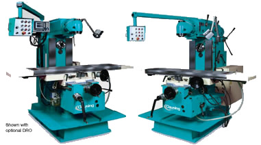 clausing universal vertical and horizontal mills