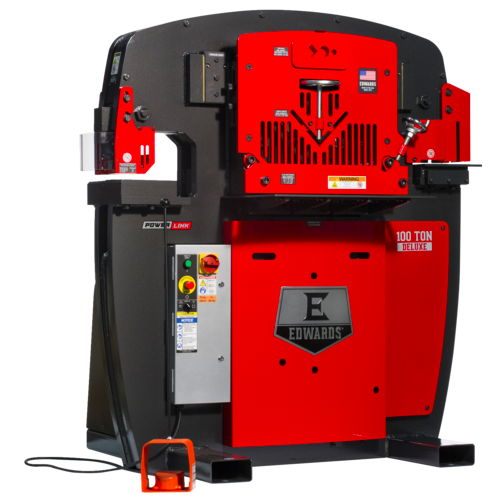 100 ton deluxe edwards ironworker - call for discount