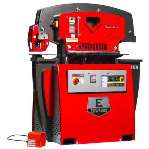 Elite 110 Ton Ironworker - Includes PowerLink System - get it for less