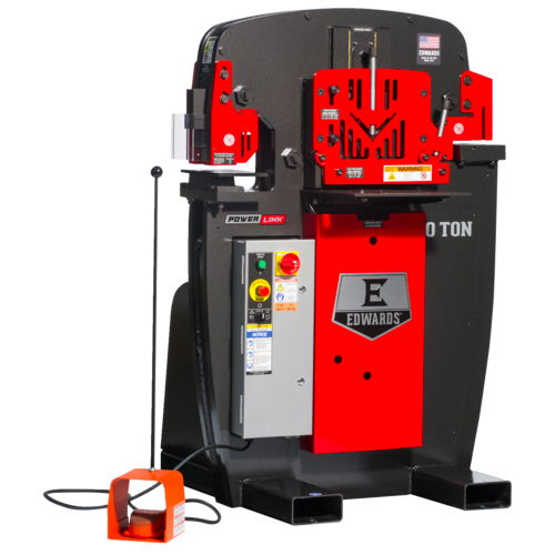 50 ton edwards ironworker - call for discount